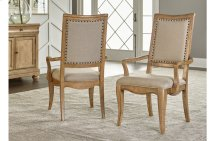 Ashby Woods Upholstered Back Arm Chair