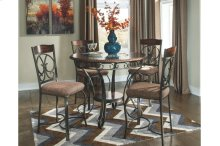 Round Counter Table & 4 Chairs