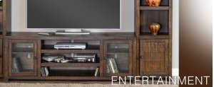 Homestead Entertainment Wall