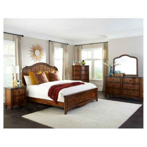 Luciano King Panel Bed Headboard
