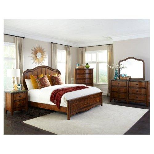 Luciano Queen Panel Bed Headboard