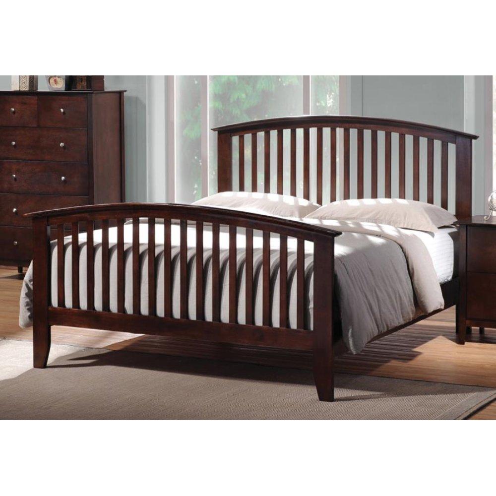 Tia Cappuccino Queen Bed