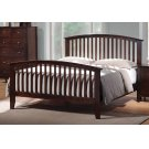 Tia Cappuccino Queen Bed Product Image