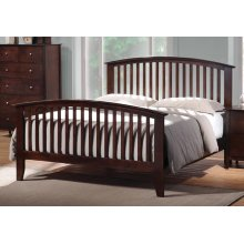 Tia Cappuccino Queen Bed