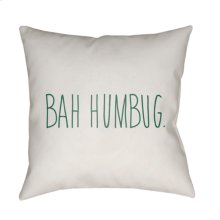 "Bahhumbug HDY-002 18"" x 18"""