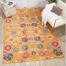Passion Psn01 Sun Rectangle Rug 6'7'' X 9'6''