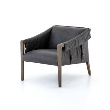 Chaps Ebony Cover Bauer Leather Chair