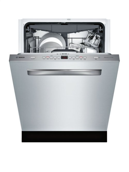 500 Series Pocket Handle 44 DBA Dishwasher with 3rd Rack & Infolight - EXCLUSIVE MODEL
