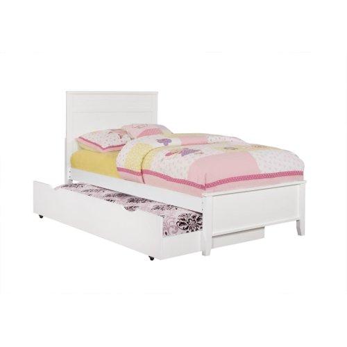 Ashton White Twin Bed