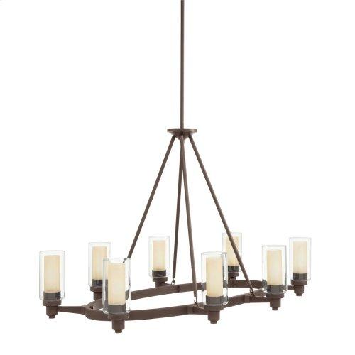 Circolo 8 Light Chandelier Olde Bronze®
