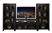 Urban Loft TV Console & Bookcase Pier
