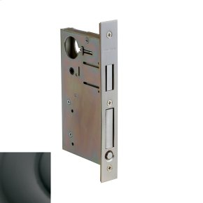 Oil-Rubbed Bronze 8632 Pocket Door Lock with Pull