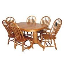 Solid Oak Chair