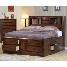 Hillary Queen Storage Bed