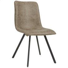 Buren Side Chair, set of 2, in Vintage Brown