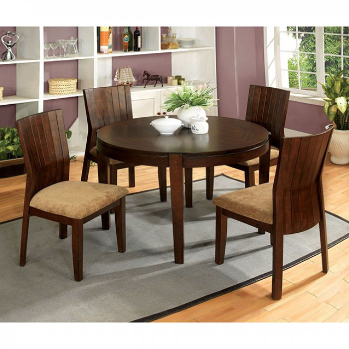 CM3332T In By Furniture Of America In Idaho Falls, ID   Ottawa I Round  Dining Table