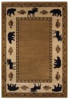 Cabin Retreat Praline Machine Woven Rugs