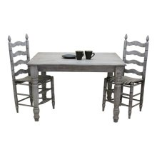 Farm House Dining Table in Antique Gray
