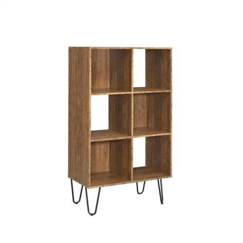 Sheeran Rustic Amber Bookcase