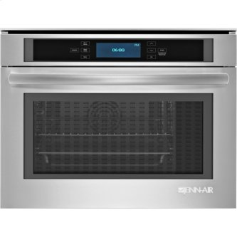Jenn-Air® 24-Inch Steam and Convection Wall Oven, Euro-Style Stainless