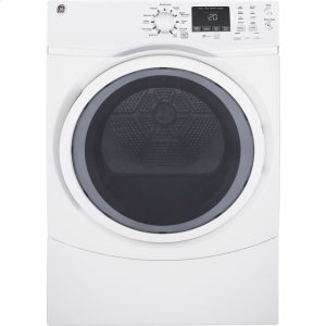 GE®7.5 cu. ft. Capacity Front Load Electric Dryer with Steam