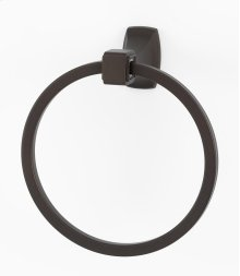 Cube Towel Ring A6540 - Chocolate Bronze
