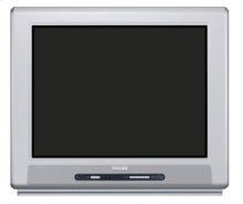 "24"" real flat stereo TV"