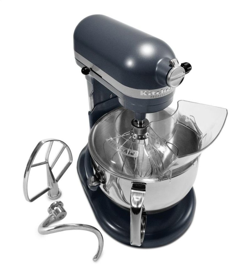 Kitchenaid Professional 600 Series 6 Quart Bowl Lift Stand Mixer Blue Steel