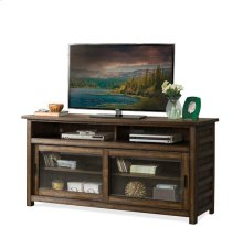 Perspectives 64-Inch TV Console Brushed Acacia finish