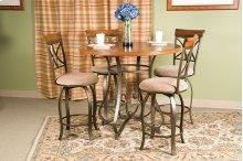 5-Pc. Hamilton Gathering Set - (1) 697-441 Gathering Table & (4) 697-726 Swivel Counter Stools