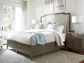 Harmony Bed with Storage (King) - Brown Eyed Girl