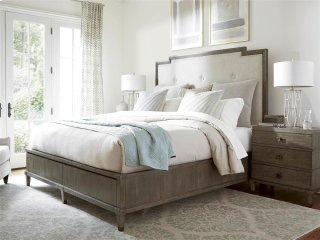 Harmony Bed with Storage (Queen) - Brown Eyed Girl