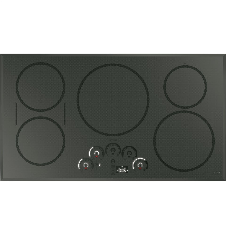 """Cafe Appliances36"""" Smart Touch-Control Induction Cooktop"""