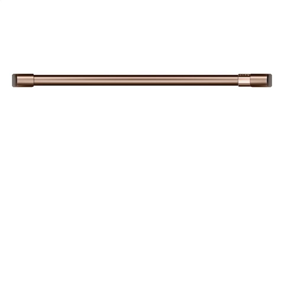 "Caf(eback) 30"" Single Wall Oven Handle - Brushed Copper