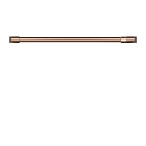"""Café 30"""" Single Wall Oven Handle - Brushed Copper"""