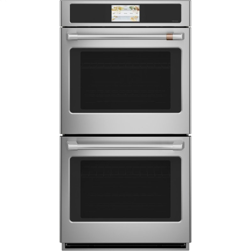 """Caf(eback) 27"""" Smart Double Wall Oven with Convection"""
