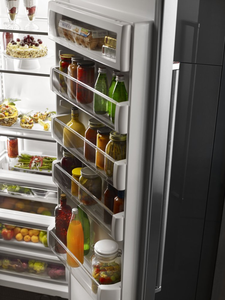 Kitchenaid 30.0 Cu. Ft 48 Inch Width Built In Side By Side Refrigerator