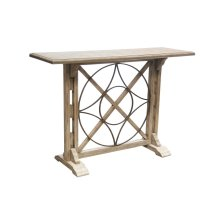 Sofa Table, Available in Old World Finish only.