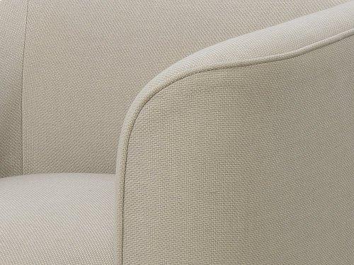 Emerald Home Whirlaway Swivel Chair Cream U3272-04-09