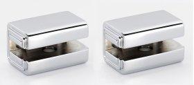 Cube Shelf Brackets A6550 - Polished Chrome