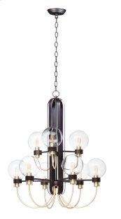 Bauhaus 9-Light Chandelier