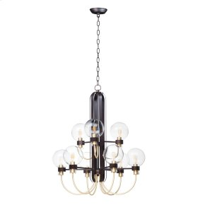 Bauhaus 9-Light Chandelier