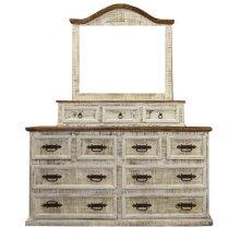 White 8 Drawer Dresser