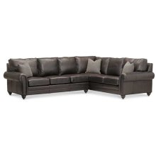 Madison Leather Sectional