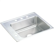 "Elkay Lustertone Classic Stainless Steel 22"" x 19-1/2"" x 7-1/2"", Single Bowl Drop-in Classroom Sink"