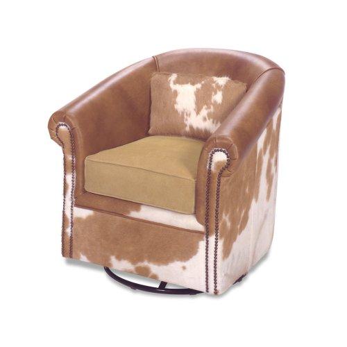 Marshall Barrel with Swivel Chair