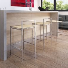 Udine Counter Stool in Natural Oak Product Image