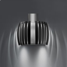 "Wall - 26"" (65 cm) Black - 500 CFM Hood"