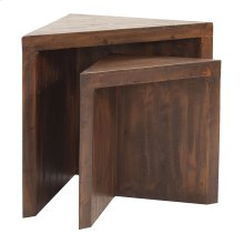 Rustic Wood Nesting Tables