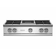 """36"""" RNB Rangetop with 12"""" Charbroiler"""